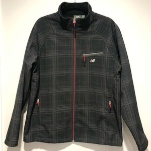 New Balance wind and water resistant lined jacket